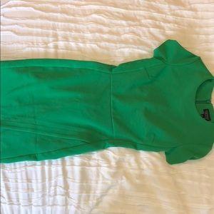 Green Topshop dress